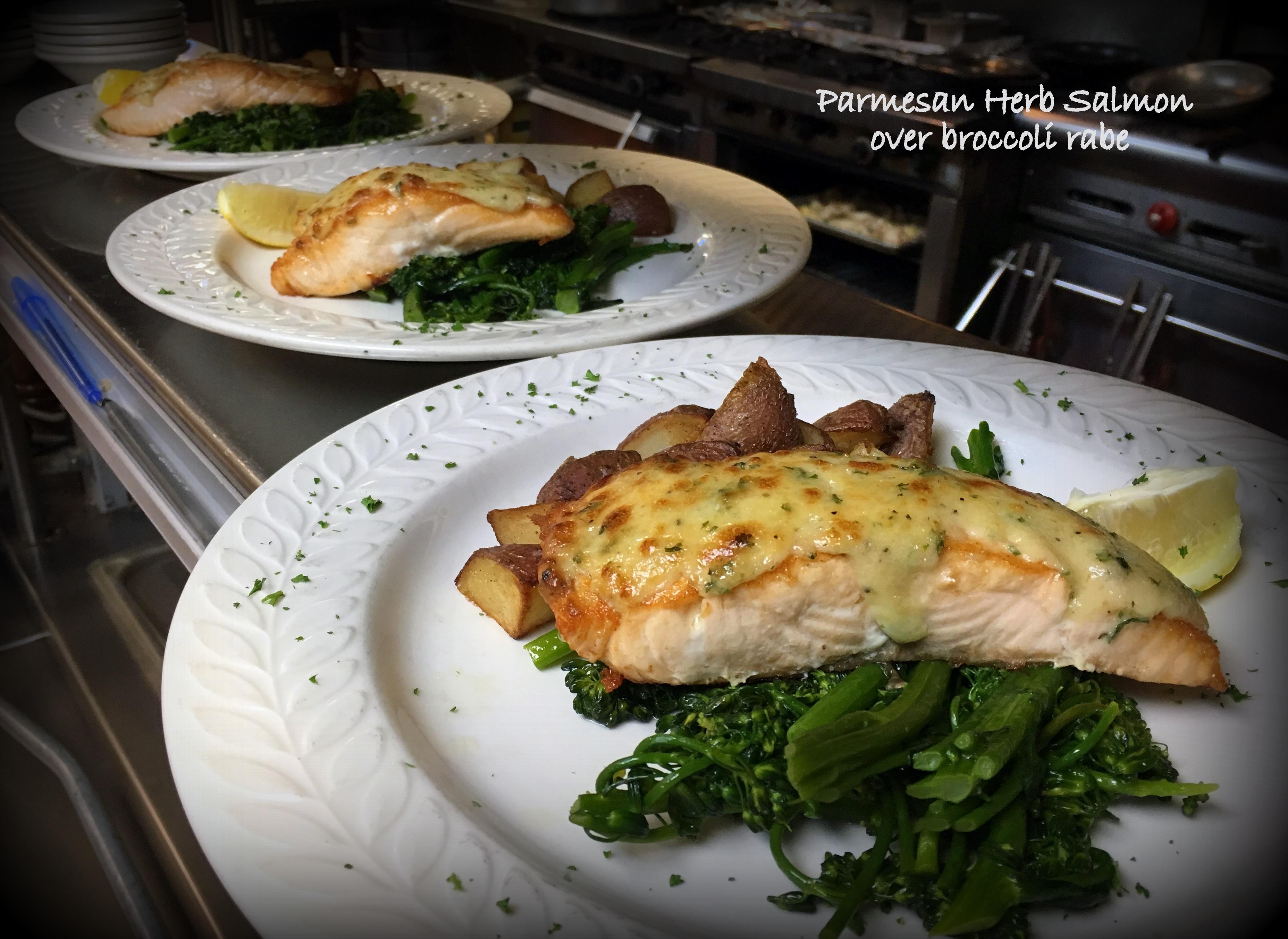 Parmesan Salmon_IMG_2422