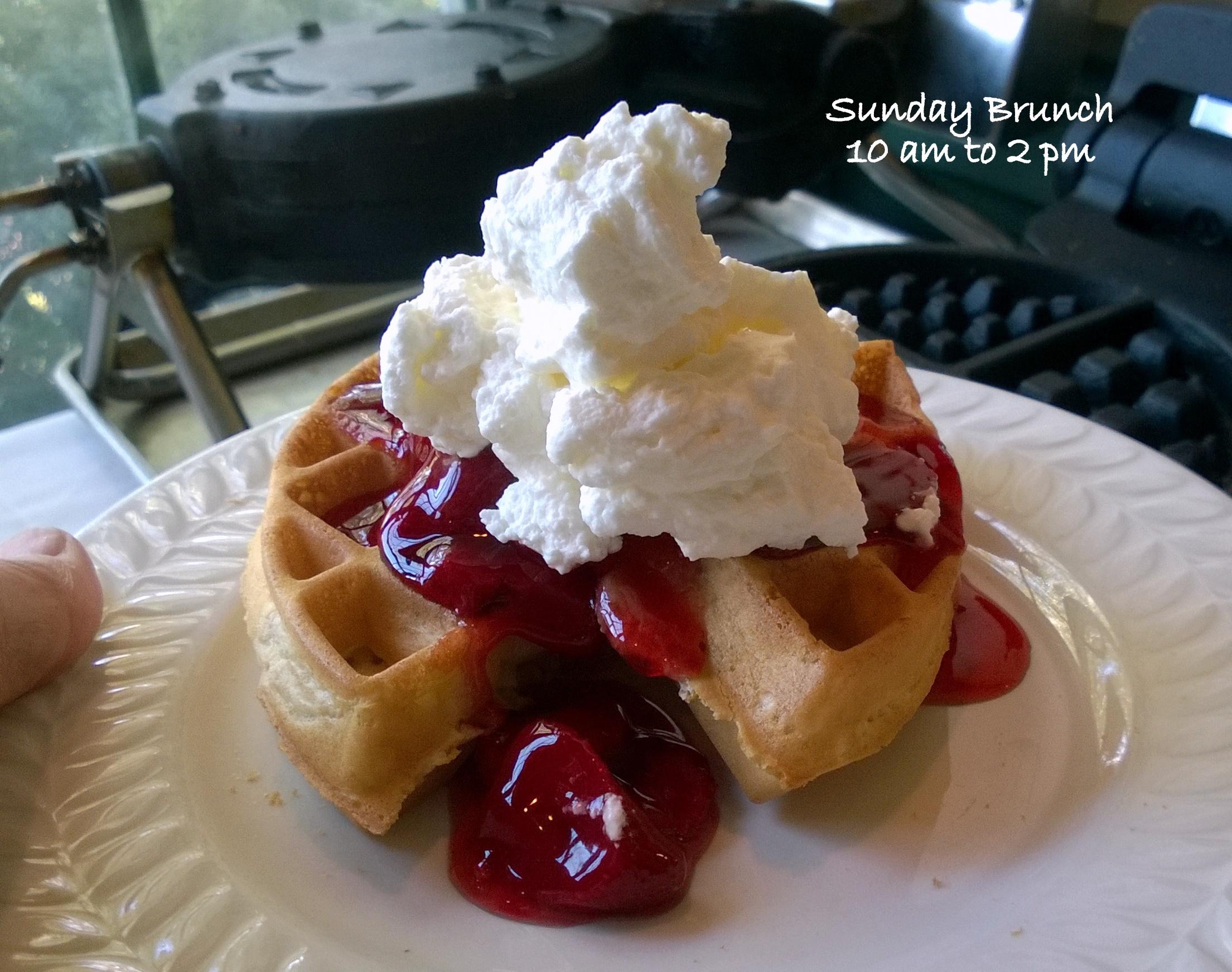 Waffle Sunday Brunch